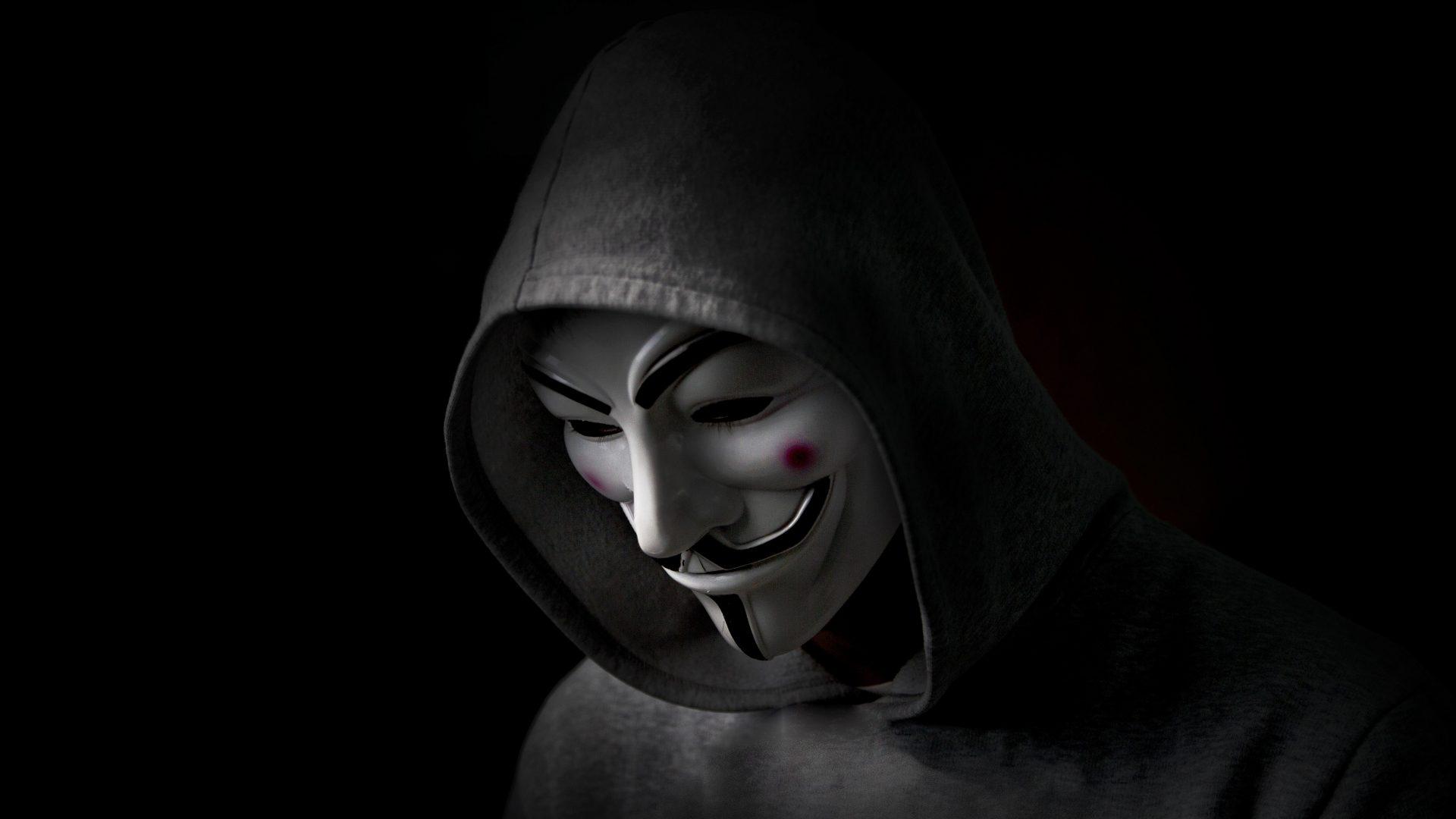 Anonymous V For Vendetta Mask Movie 5K Wallpaper