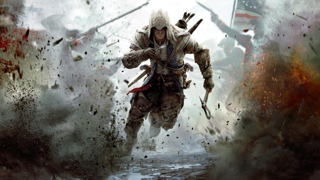 Assassin's Creed 3 Connor Running 4K Wallpaper