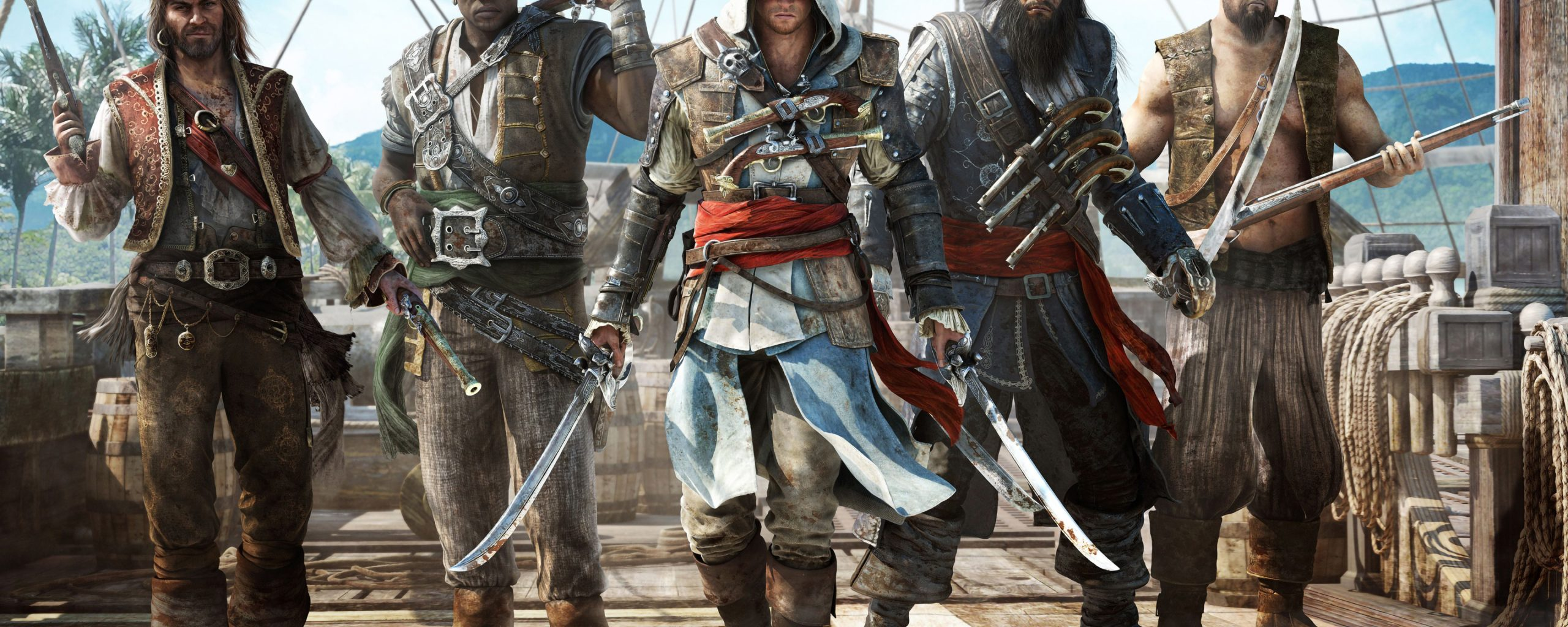 Assassin S Creed 4 Black Flag 4k Wallpaper Best Wallpapers