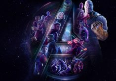 Avengers Infinity War All Superheros and Villain Poster Artwork 4K Wallpaper