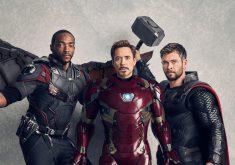 Avengers Infinity War Falcon Ironman Thor 4K Wallpaper
