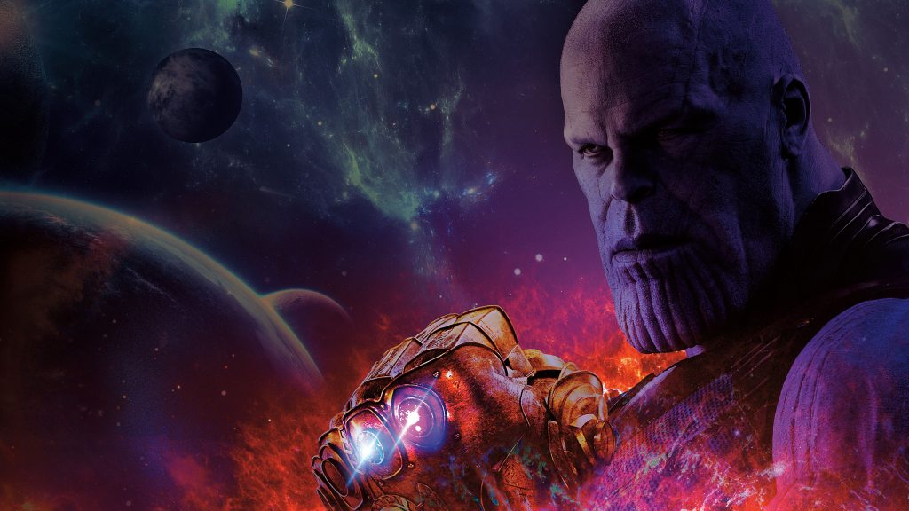 Avengers Infinity War Thanos 8K Wallpaper