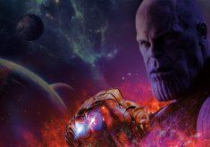 Avengers Infinity War Thanos 8K Wallpaper