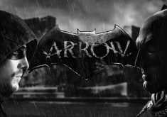 Batman Arrow Monochrome 4K Wallpaper