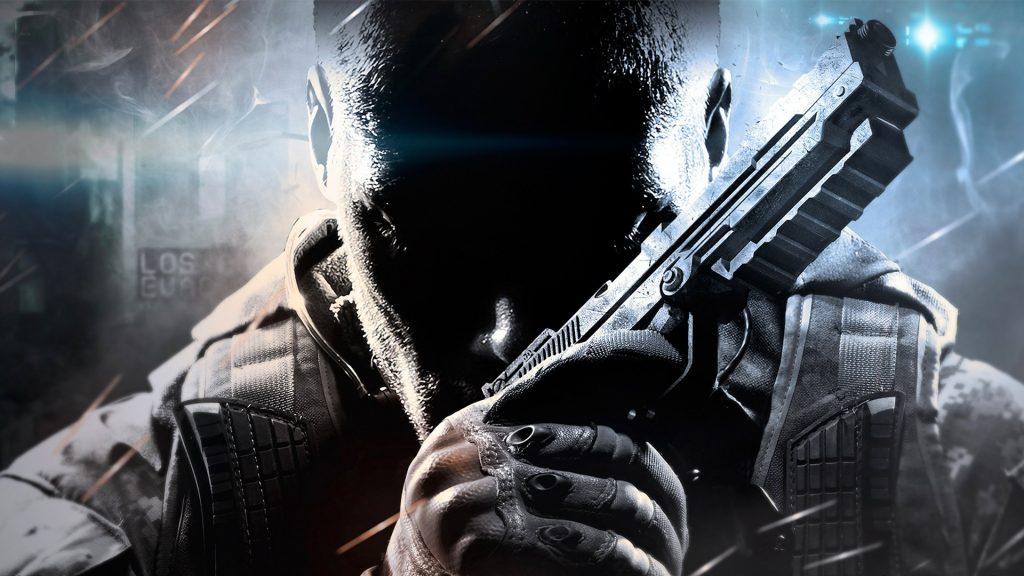 Call of Duty Black Ops 2 Face Gun 4K Wallpaper