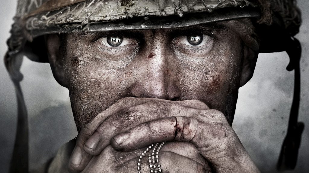 Call of Duty WW2 Game Soldier 5K Wallpaper