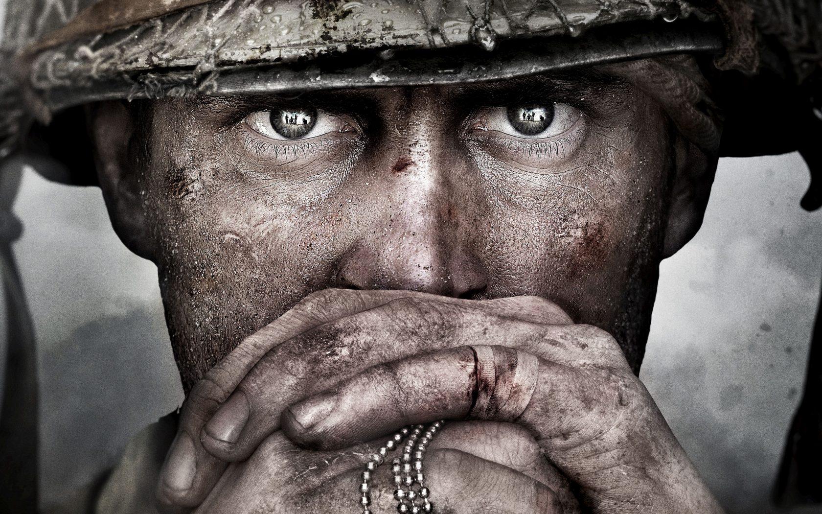 Call Of Duty Ww2 Wallpaper 4k: Call Of Duty WW2 Game Soldier 5K Wallpaper