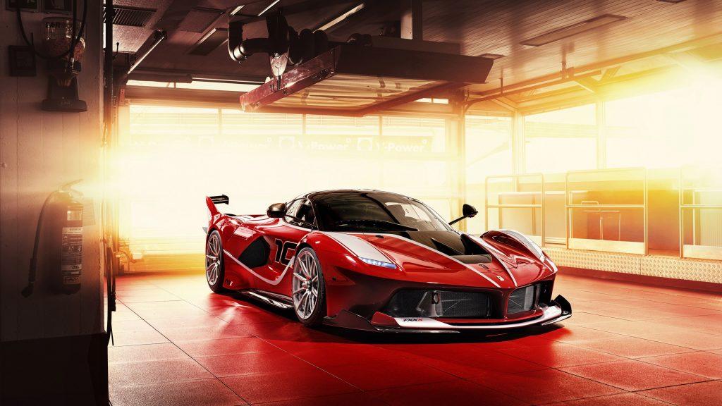 Car Red Sport Car 4K Wallpaper