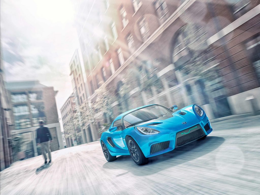 Car Sport Car Blue 4K Wallpaper