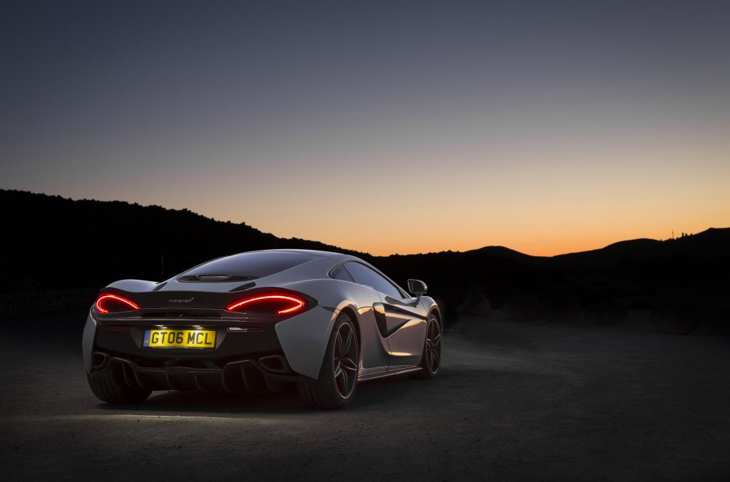 Car Sunset Sport Car 4K Wallpaper