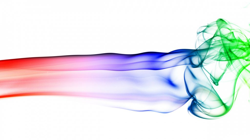 Colorful Red Blue Green Smoke 4K Wallpaper