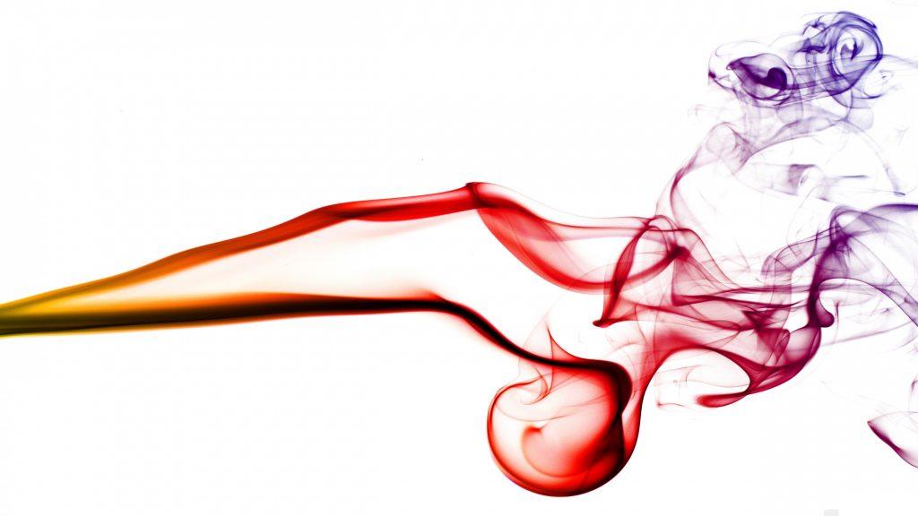Colorful Red Blue Smoke 4k Wallpaper