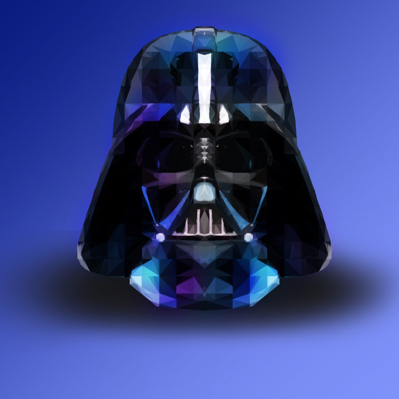 Darth Vader Star Wars Abstract 4K Wallpaper