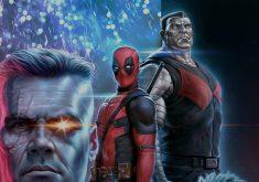 Deadpool 2 Deadpool Cable Colossus Movie Art 4K Wallpaper