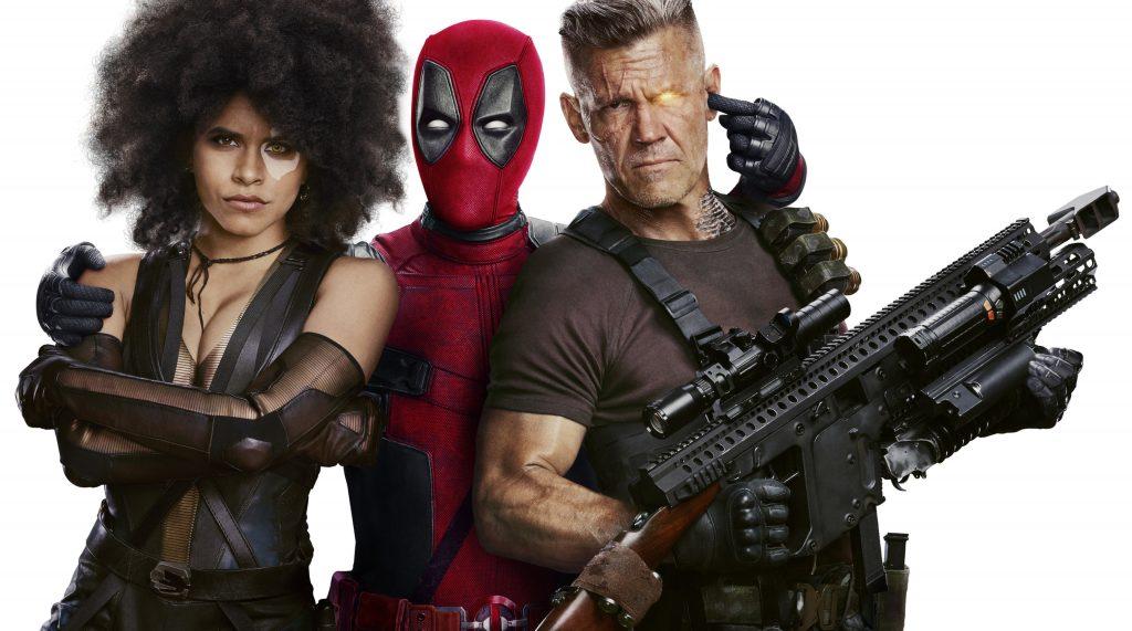 Deadpool 2 Deadpool Domino Cable Movie 4K Wallpaper