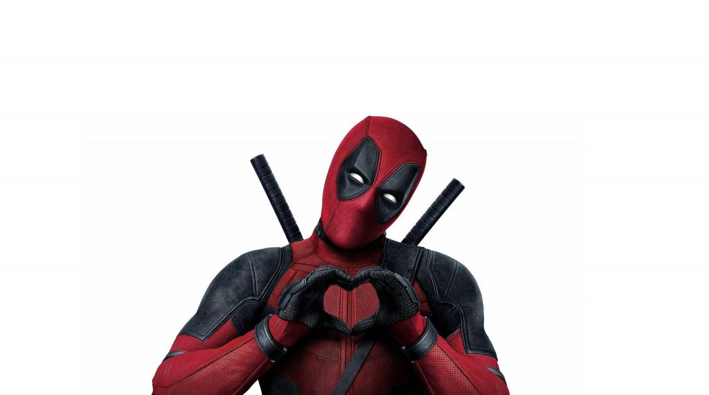 Deadpool 2 Heart Poster 4K Wallpaper