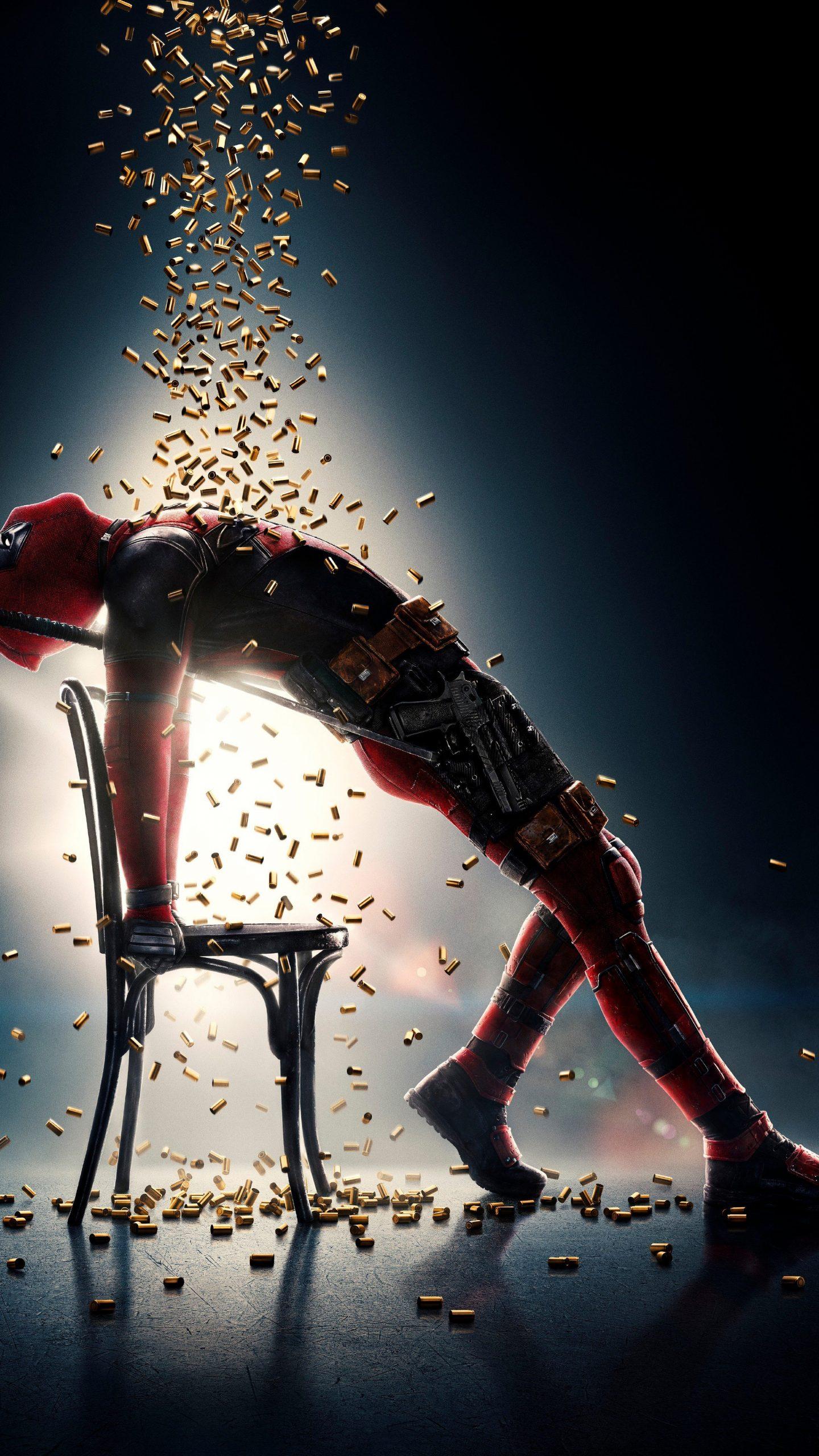 Deadpool 2 Movie Bullets Poster 4K Wallpaper
