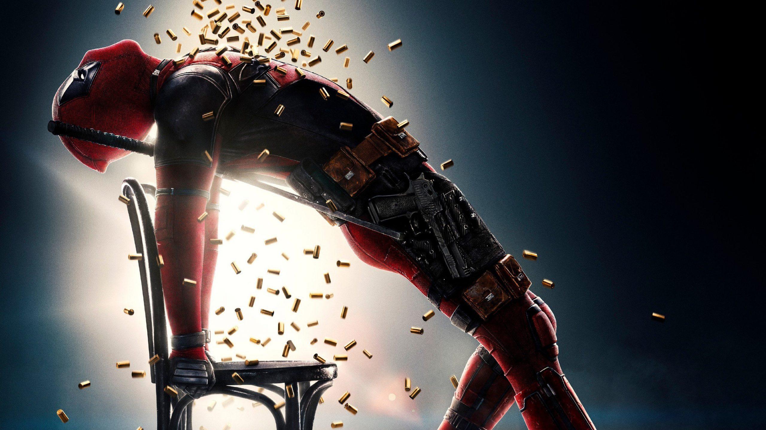Deadpool 2 Movie Bullets Poster 4k Wallpaper Best Wallpapers