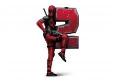 Deadpool 2 Poster Movie 8K Wallpaper