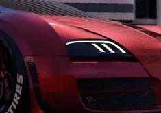 Deadpool Bugatti Veyron Car Closeup 4K Wallpaper