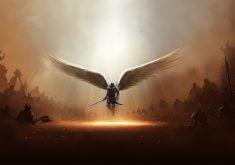 Diablo 3 Tyrael Archangel of Justice Game 4K Wallpaper