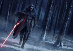 Kylo Ren Star Wars the Force Awakens Artwork 4K Wallpaper