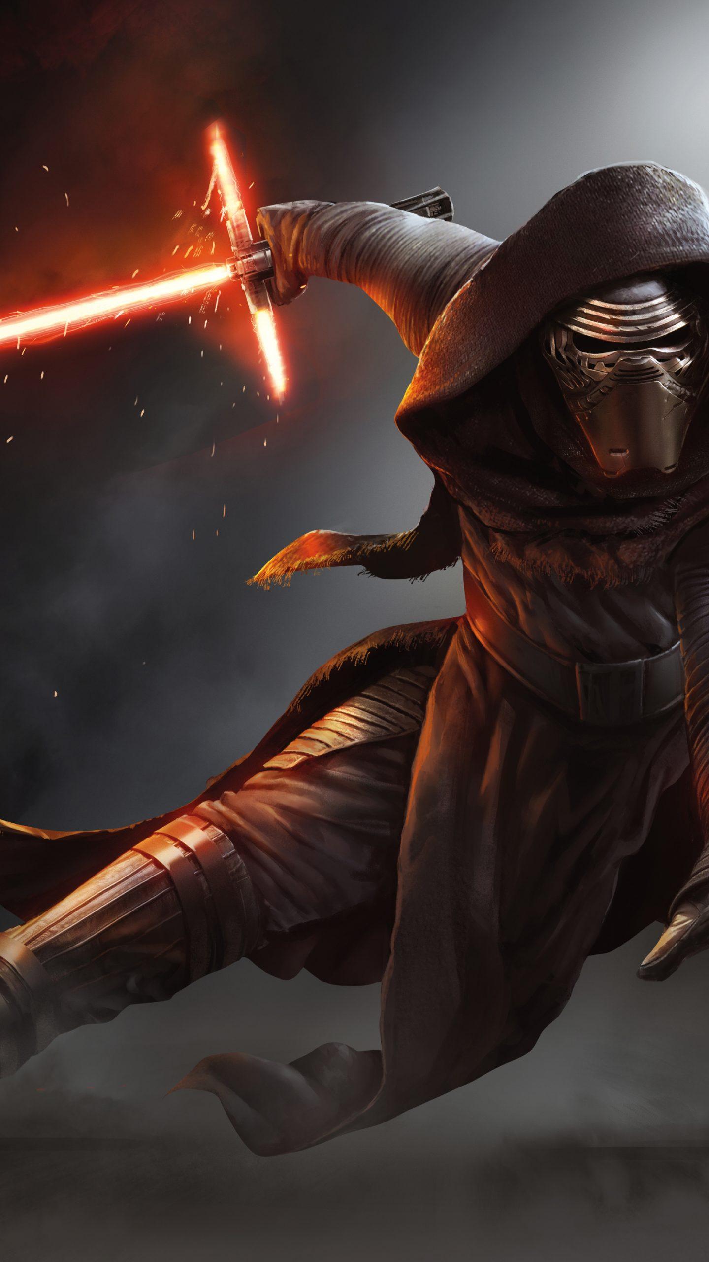 Kylo Ren Star Wars The Force Awakens 4k Wallpaper Best Wallpapers