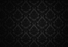 Pattern Black Dark 5K Wallpaper