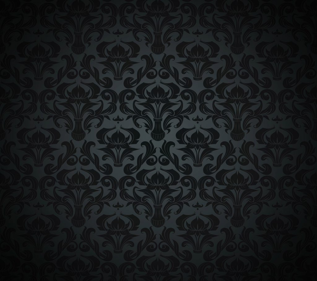 Pattern Black Dark Vintage 4K Wallpaper - Best Wallpapers