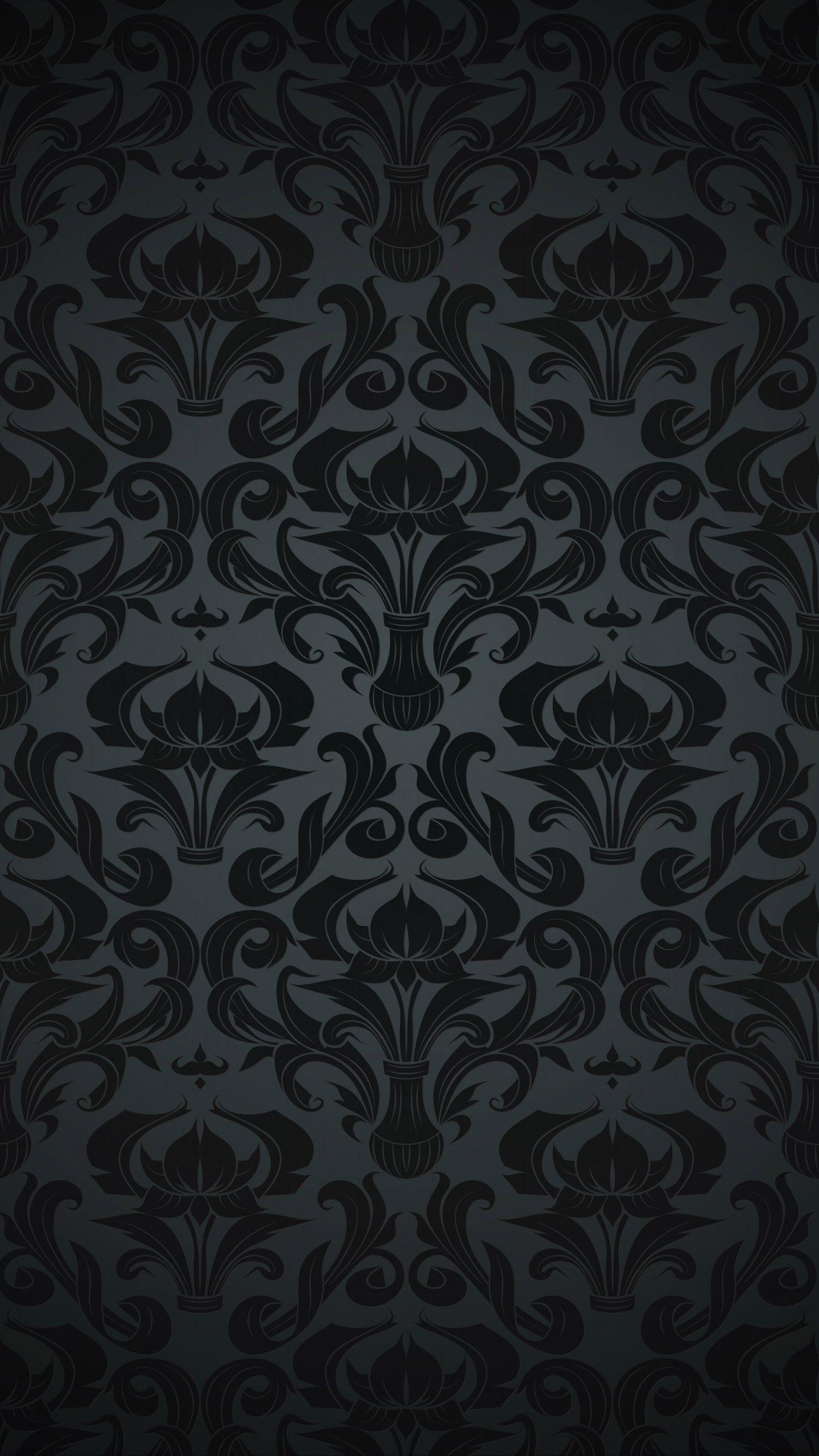 Pattern Black Dark Vintage 4k Wallpaper Best Wallpapers