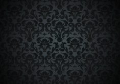 Pattern Black Dark Vintage 4K Wallpaper