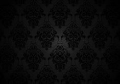 Pattern Black Dark Vintage Monochrome 4K Wallpaper