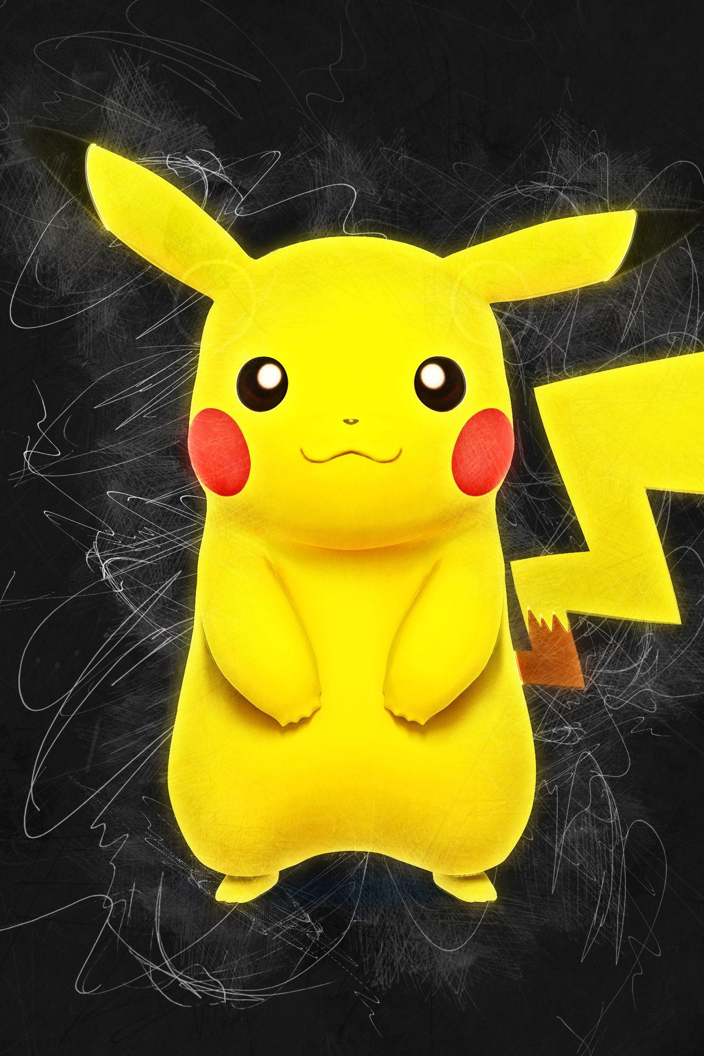 Pokemon Pikachu Artwork 4k Wallpaper Best Wallpapers