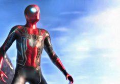 Spiderman Avengers Infinity War 2018 Movie Artwork 4K Wallpaper