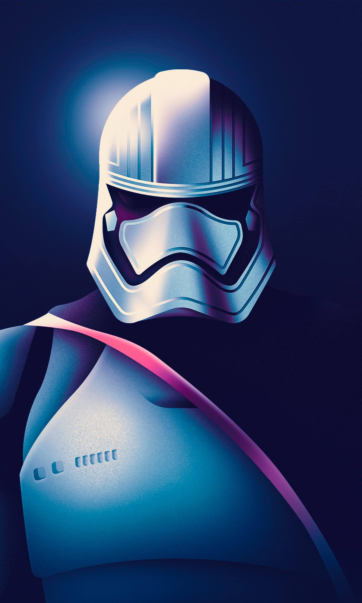 Star Wars Captain Phasma Artwork 4k Wallpaper Best Wallpapers
