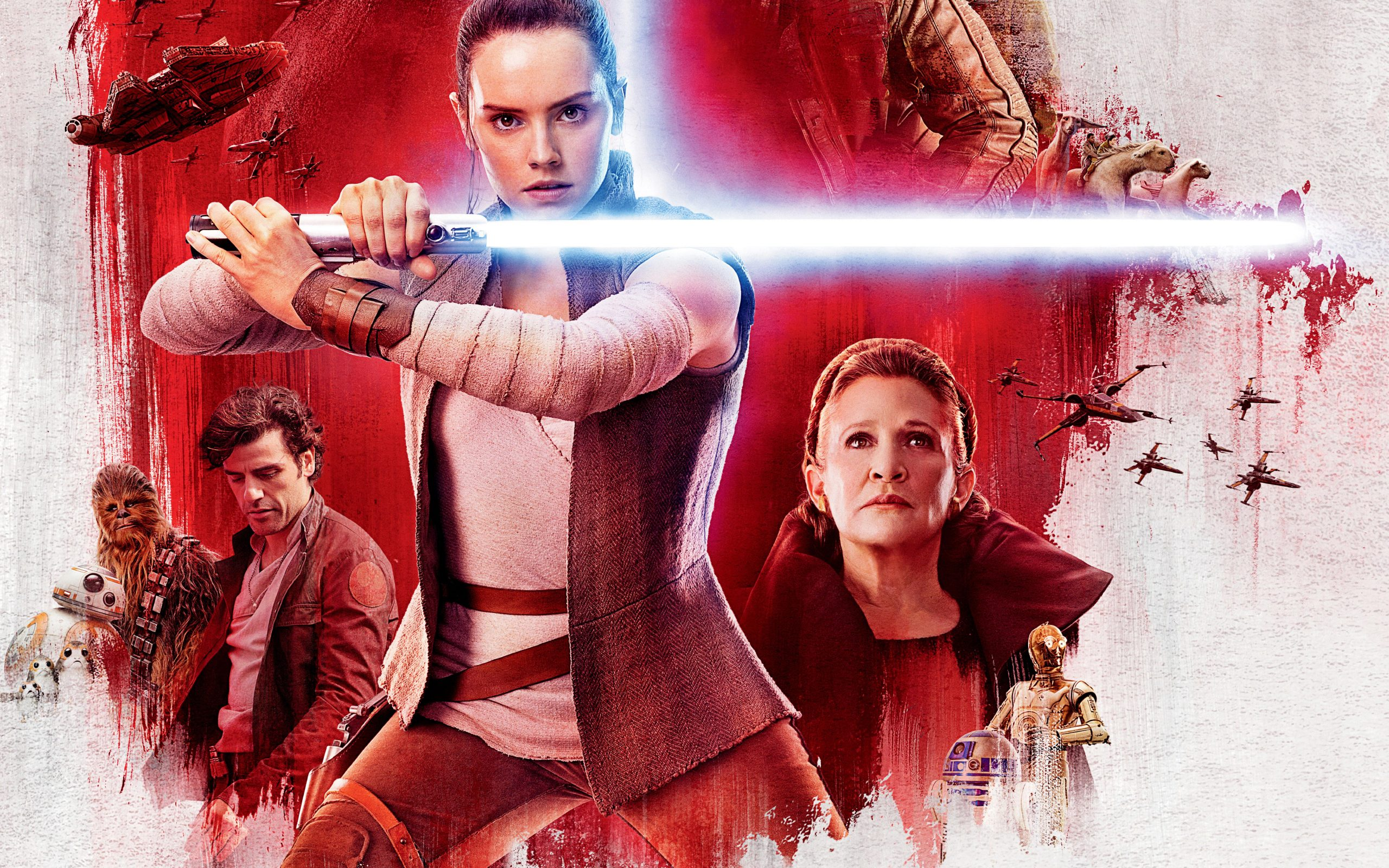 Star Wars The Last Jedi Movie Poster 5k Wallpaper Best Wallpapers