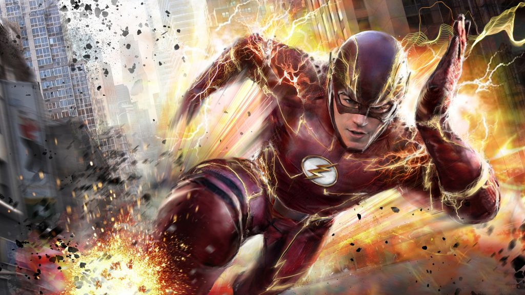 The Flash Speedster Red TV Show 4K Wallpaper