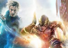 The Flash vs Quicksilver Speedster Red Blue 4K Wallpaper