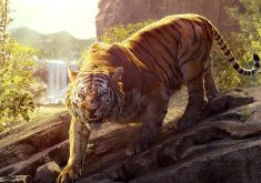 The Jungle Book Shere Khan Tiger 4K Wallpaper