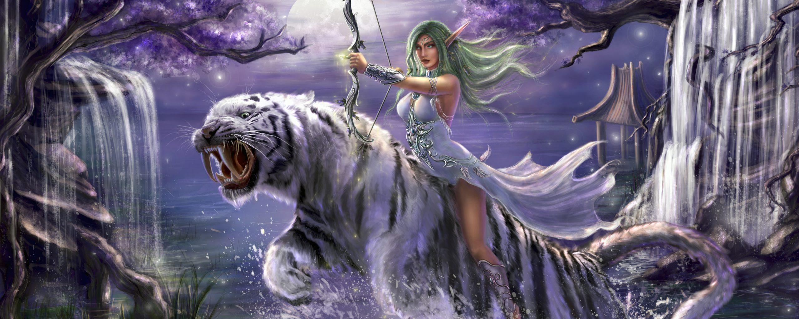 World Of Warcraft The Dark Portal Uhd 4k Wallpaper: Tyrande Whisperwind World Of Warcraft 5K Wallpaper