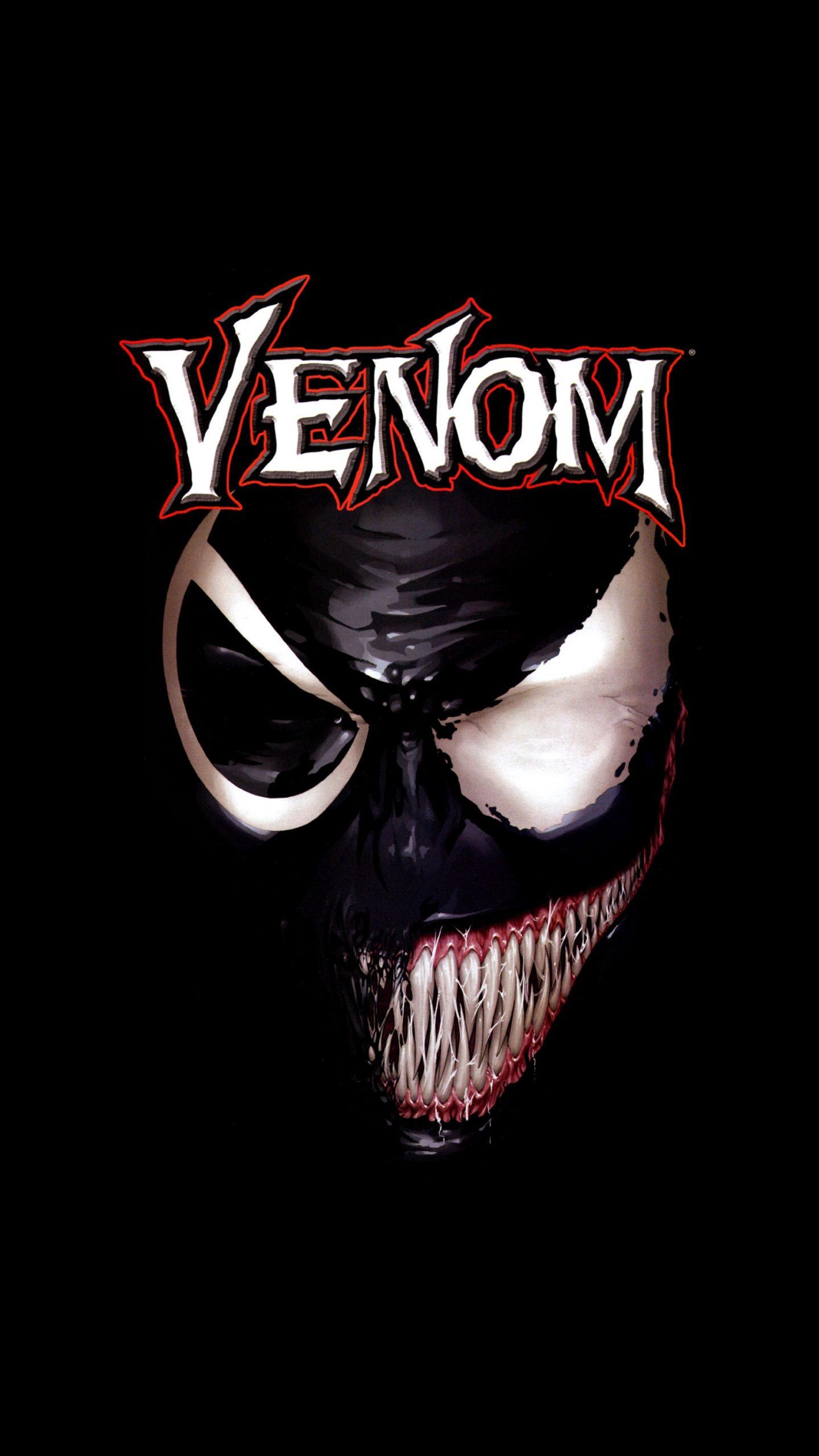 Venom Movie Black Poster 4k Wallpaper Best Wallpapers