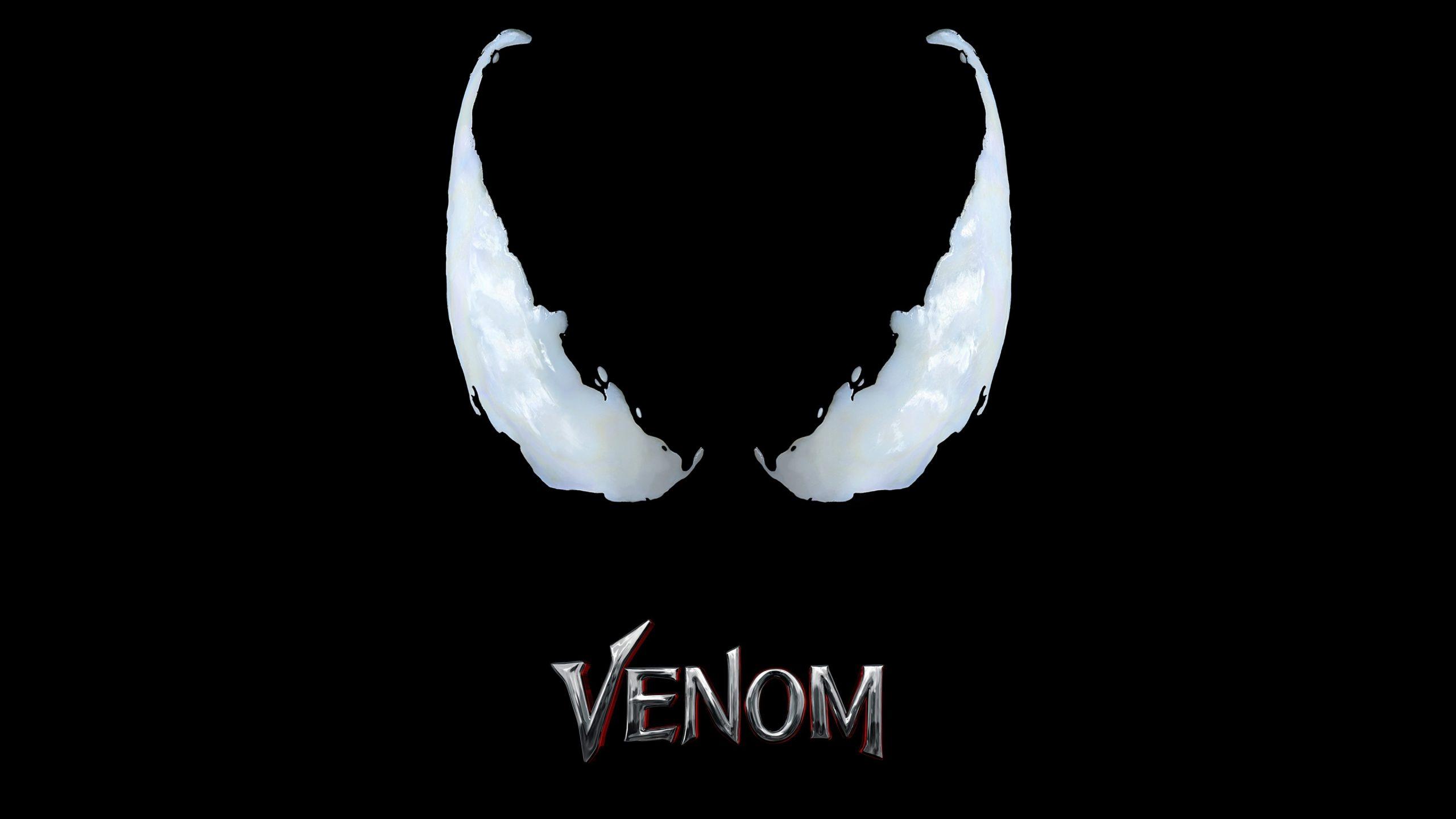 Venom Movie Logo Black 4k Wallpaper Best Wallpapers