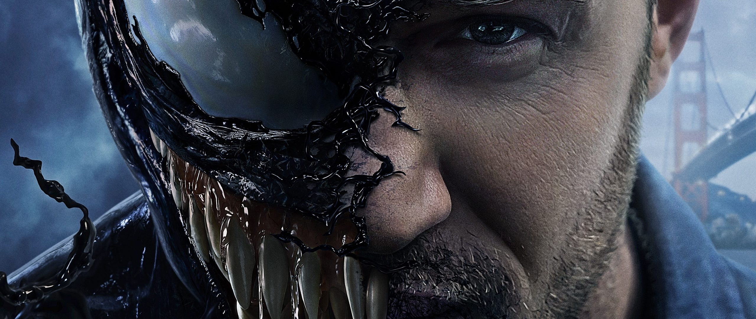 Venom Tom Hardy 2018 Movie 5k Wallpaper Best Wallpapers