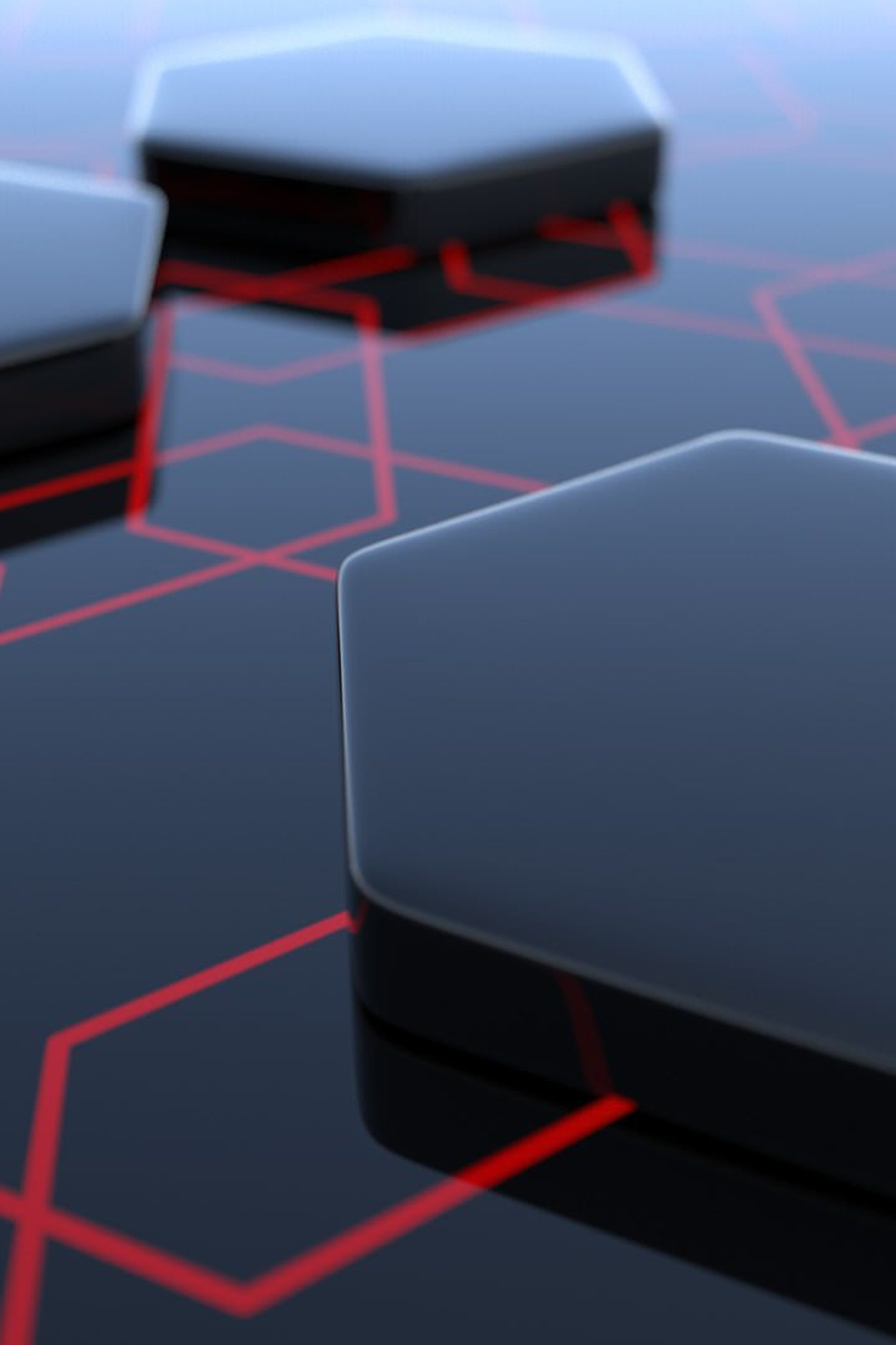 Abstract Hexagon 3d Black 4k Wallpaper Best Wallpapers