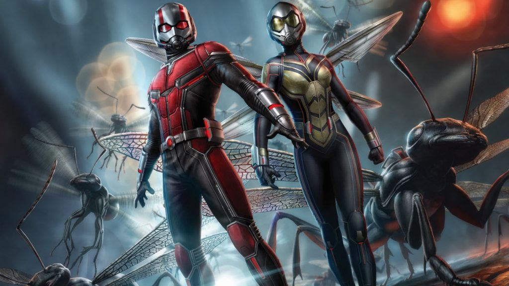 Ant-Man and the Wasp Promotional Poster 4K Wallpaper