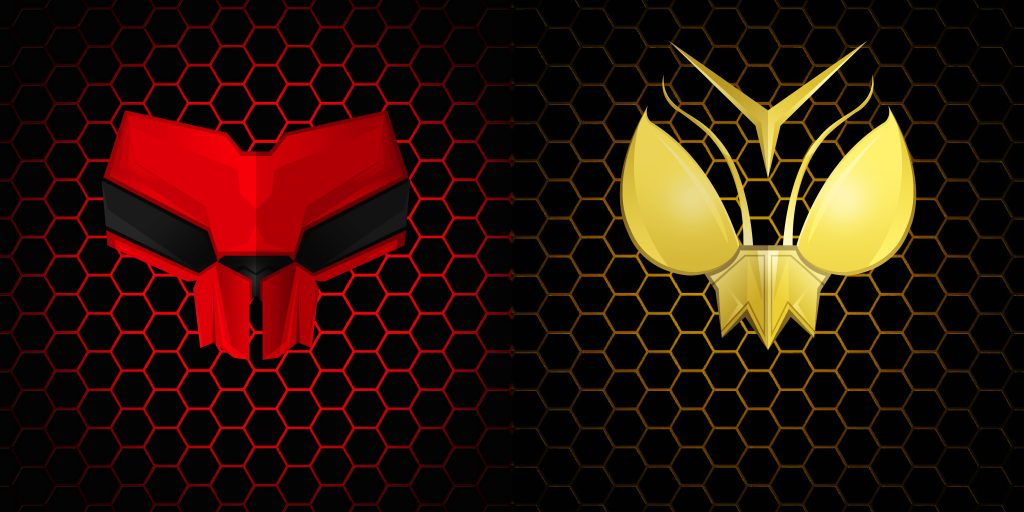 Ant Man And The Wasp Red Yellow Artwork 4k Wallpaper Best Wallpapers