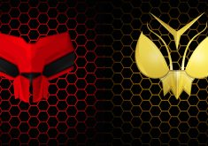 Ant-Man and the Wasp Red Yellow Artwork 4K Wallpaper