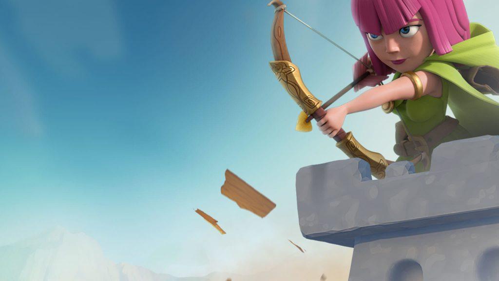Archer Clash of Clans 4K Wallpaper