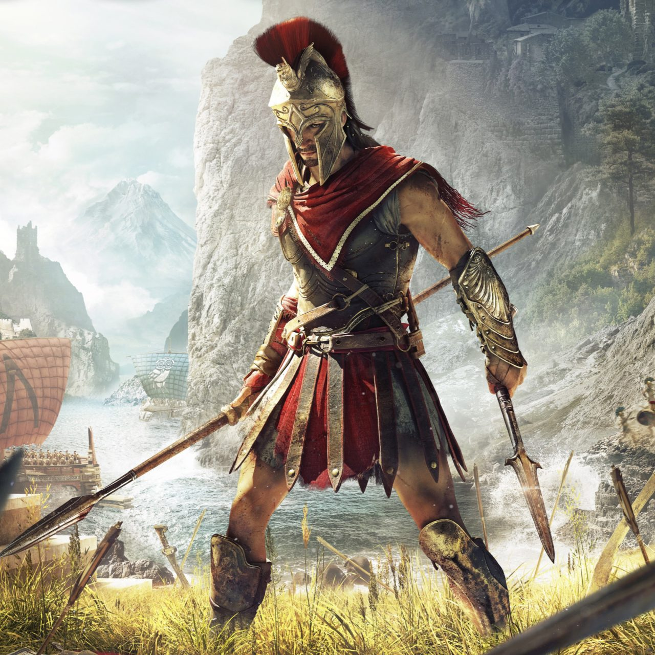 Assassin's Creed Odyssey Game 4K Wallpaper