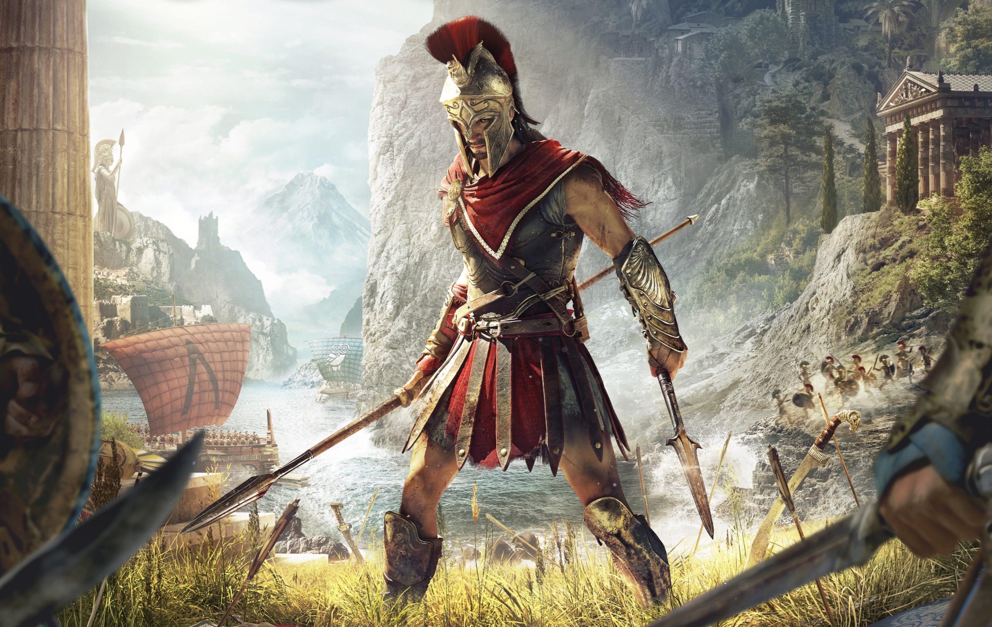 2932x2932 Pubg Android Game 4k Ipad Pro Retina Display Hd: Assassin's Creed Odyssey Game 4K Wallpaper